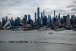 New York City Cityscape Morning Sunrise - 242698055