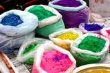 India - colored powder