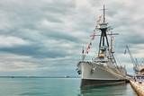 Historic greek warship Averof - 242708604