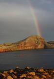 Fototapeta Rainbow - Tęcza nad Maderą © Grzegorz