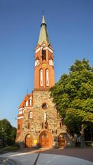 Garrison church of St. George in Sopot. Poland