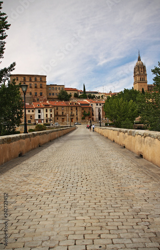 Bridge in the city of Salamanca, Spain