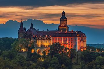 Ksiaz Castle - Poland, Europe