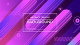 Abstraction of vector background design with simple graphic elements - 242772807