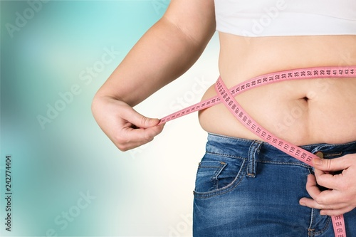 Obesity overweight diabetes fitness abdomen adult background