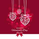 Valentines day card. - 242788040
