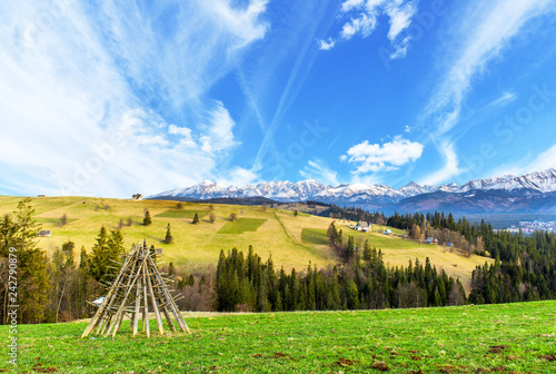 Polish mountains Tatry