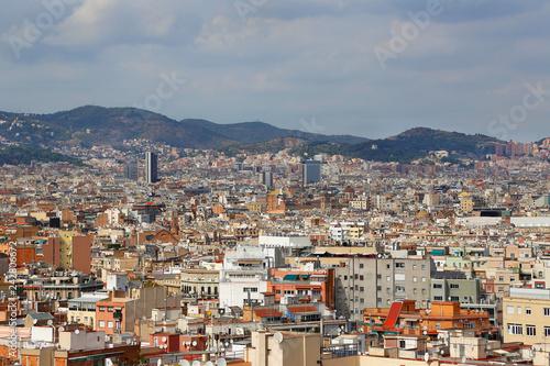 obraz lub plakat Beautiful view of Barcelona, Catalonia, Spain