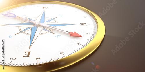Goldener Kompass © Alexander Limbach