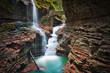Leinwanddruck Bild - Watkins Glen & Long Exposure