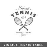 Tennis label - 242848861