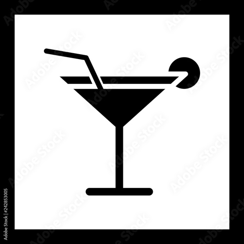 Vector Cocktail Icon