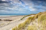 path along North sea sand beach - 242867006