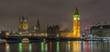 big ben and houses of parliament in london at night