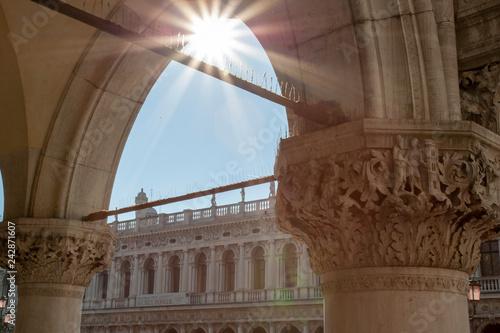 historic architecture sun