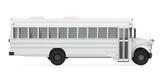 Prisoner Transport Bus Isolated - 242874641
