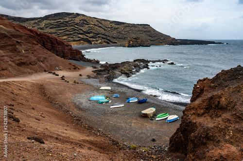 Charco de los Clicos Beach, Lanzarote, Spain