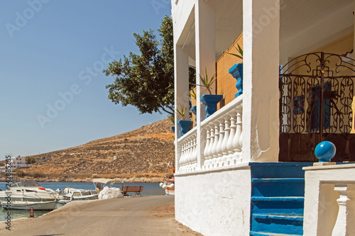 street in kalymons greek Island © rosensterne