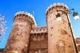 Defensive towers Quart in the historic center of Valencia. - 242903244