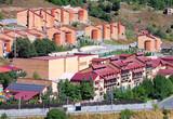 Buildings on a hillside - 242912861