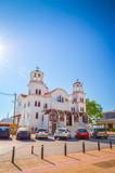 Greek orthodox Church in Paralia Katerini,  Greece - 242920831
