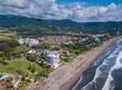 Beautiful aerial view of Jaco Beach in Costa Rica - 242937438