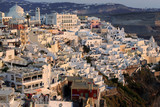 Insel Santorin in Griechenland Fira