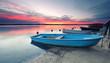 Leinwanddruck Bild - Entspannung am See