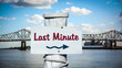 Schild 387 - Last Minute