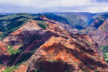 Waimea Canyon auf Kauai in Hawaii