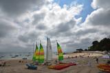 Plage des Dames à Noirmoutier en été, France