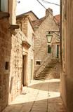 Town Jelsa on island of Hvar, Croatia - 243003676