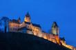canvas print picture - Burg Altena im Sauerland