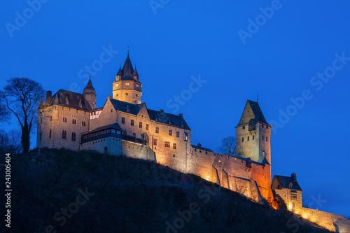 canvas print picture Burg Altena im Sauerland