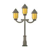 vintage street lamp - 243007830