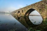 Fog on bridge