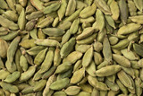 Green cardamom pods full frame - 243017628