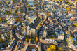 Leinwandbild Motiv Aachen, Germany from above
