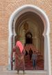 Moschee Marrakesch Marokko Eingang