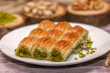 turkish sweet photo  luscious sweet pastry food meal candy sugary foods - 243051266