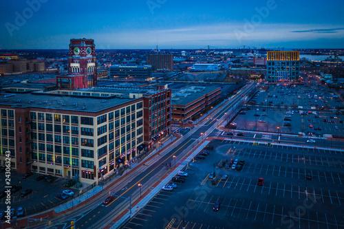 Foto Murales Aerial of Camden New Jersey
