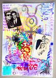 Supernatural collage, schetke's and scrap's