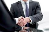 close up. handshake business people - 243091647