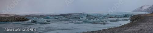 Islandia. Laguna Jokulsarlon - 243091816