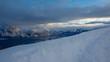 winterlandschaft gebirge
