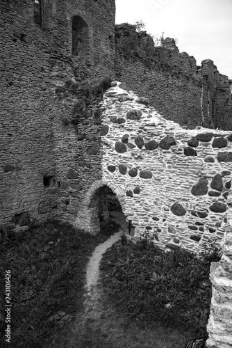 Tooles castle on the coast of the Baltic Sea.