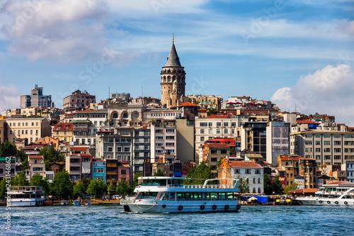Istanbul Skyline in Turkey