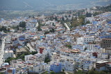 Fototapeta Do pokoju - A magnificent view of Chefchaouen town in northern Morocco. © hamza