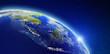 Leinwanddruck Bild - South-east Asia - Indonesia, Malaysia, Singapore and Thailand