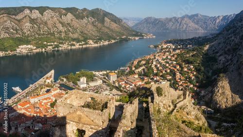 Old town of Kotor and Kotor Bay, Montenegro